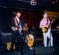 Dave Graney plays guitar